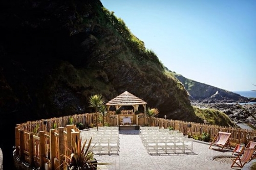 The Parent & Child Nanny Agency provides wedding and event childcare, hotel nanny and babysitting services at Tunnels Beaches, Ilfracombe